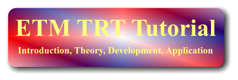 ETM TRT Tutorial Introduction, Theory, Development, Application