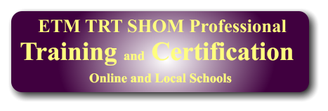 Training and Certification Online and Local Schools  ETM TRT SHOM Professional