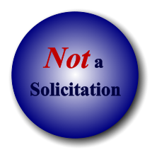 Solicitation Not a