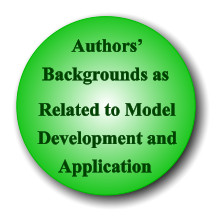 Authors' Backgrounds as Related to Model Development and  Application