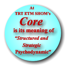"""Structured and  Psychodynamic"" TRT ETM SHOM's Strategic Core is its meaning of At"
