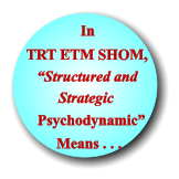 """Structured and  Psychodynamic"" TRT ETM SHOM, Means . . . In Strategic"